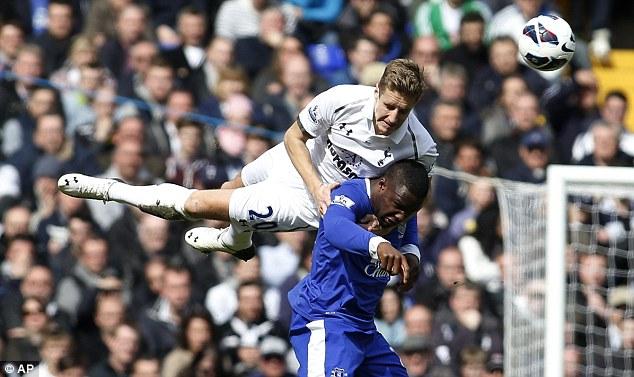 Bóng đá - Tottenham 2-2 Everton: Căng thẳng tới phút cuối cùng
