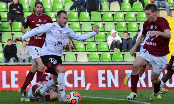 Bóng đá - Metz vs Istres: 01h30, ngày 08/04