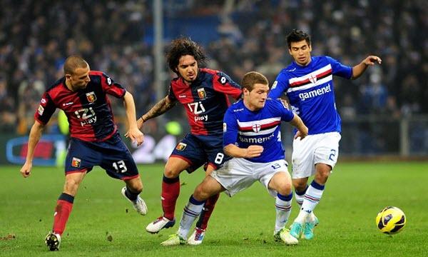 Bóng đá - Sampdoria vs Genoa 01h45, ngày 08/04