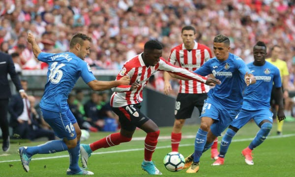 Bóng đá - Getafe vs Athletic Bilbao 02h00 ngày 25/08