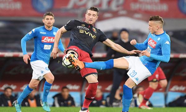Bóng đá - Napoli vs Genoa 01h30 ngày 08/04