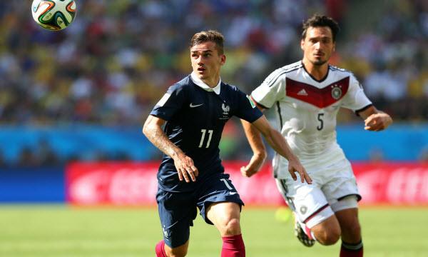 Bóng đá - Thông tin trước trận: Pháp vs Đức