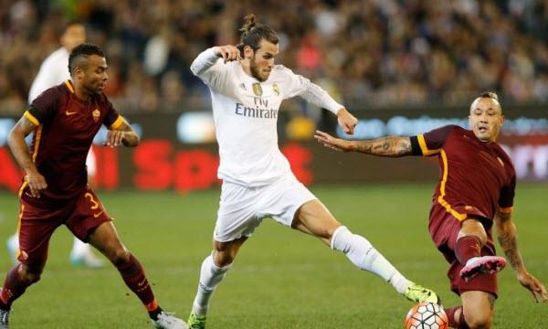Bóng đá - Real Madrid vs AS Roma 07h00, ngày 08/08
