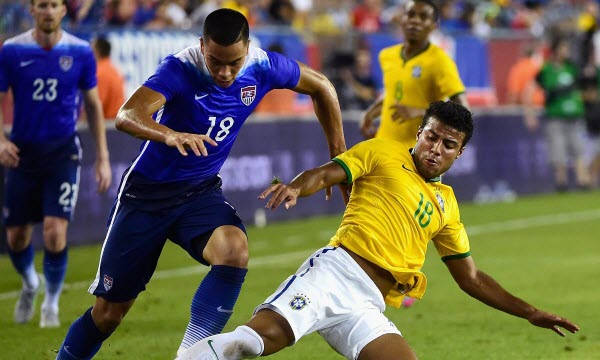 Bóng đá - Mỹ vs Brazil 06h30, ngày 08/09