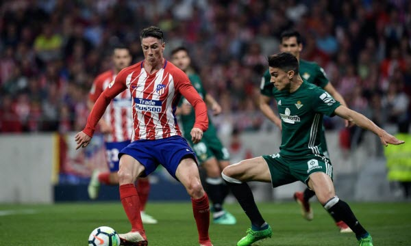 Bóng đá - Real Betis vs Atletico Madrid 03/02/2019 22h15