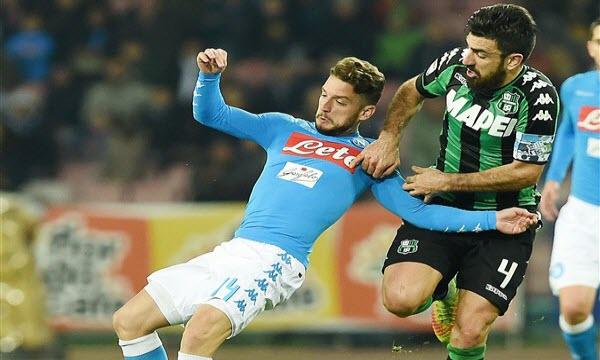 Bóng đá - Napoli vs US Sassuolo Calcio 22h59 ngày 07/10