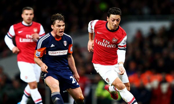 Bóng đá - Arsenal vs Fulham 01/01/2019 22h00