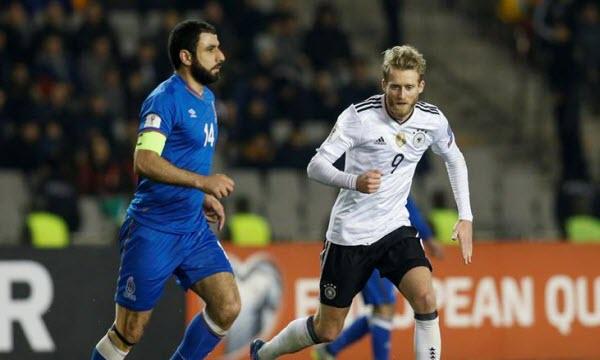 Bóng đá - Đức vs Azerbaijan 01h45, ngày 09/10