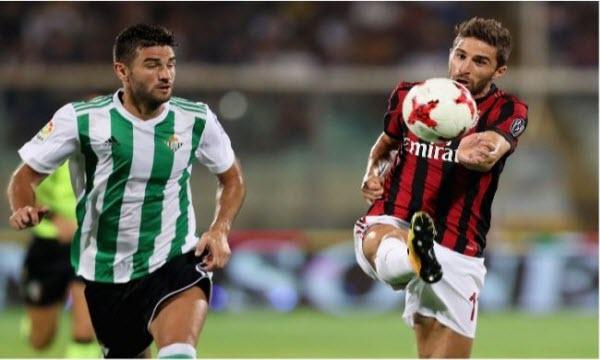Bóng đá - Real Betis vs AC Milan 03h00 ngày 09/11