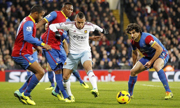 Bóng đá - Crystal Palace vs West Ham United 09/02/2019 22h00