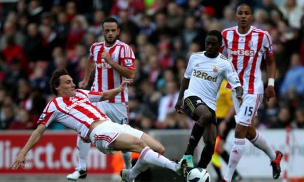 Bóng đá - Swansea City vs Stoke City 01h45 ngày 10/04