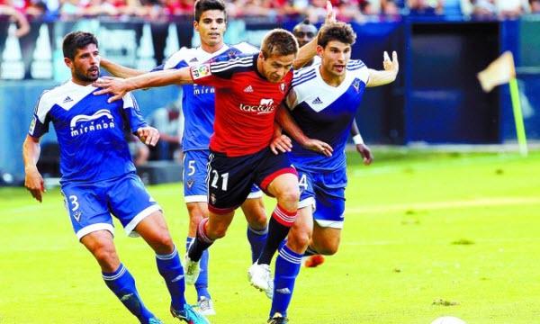 Bóng đá - Osasuna vs CD Mirandes 16h ngày 31/7