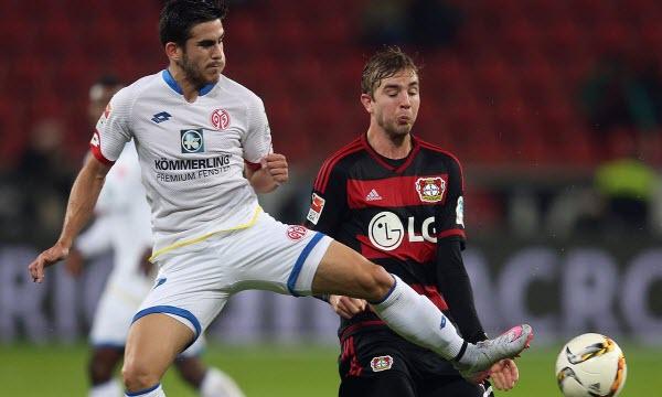 Bóng đá - Mainz 05 vs Bayer Leverkusen 20h30, ngày 09/09
