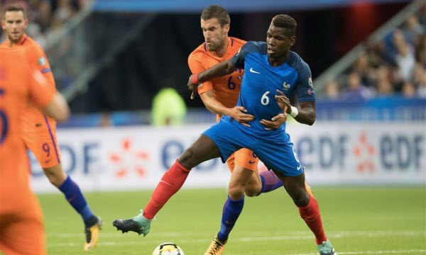 Bóng đá - Pháp vs Hà Lan 01h45, ngày 10/09