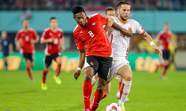 Bóng đá - Montenegro vs Áo 01h45, ngày 10/10