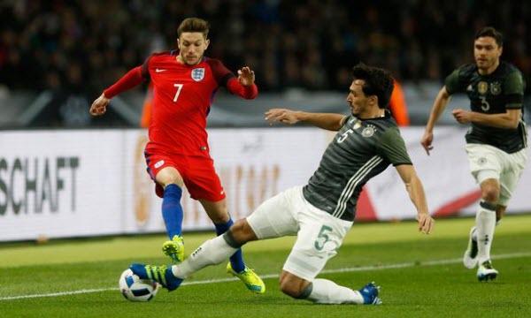 Bóng đá - Anh vs Đức 03h00, ngày 11/11