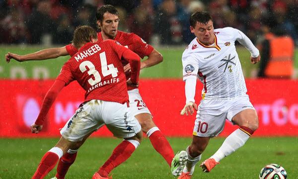 Bóng đá - Arsenal Tula vs FK Anzhi 23h30 ngày 09/11