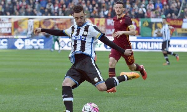 Bóng đá - Udinese vs Atalanta 21h00 ngày 09/12