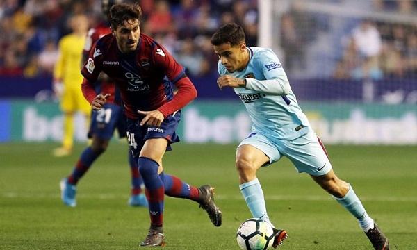 Bóng đá - Levante vs Barcelona 03h30 ngày 11/01