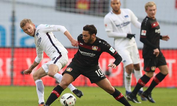 Bóng đá - Bayer Leverkusen vs Hertha Berlin 22/12/2018 21h30