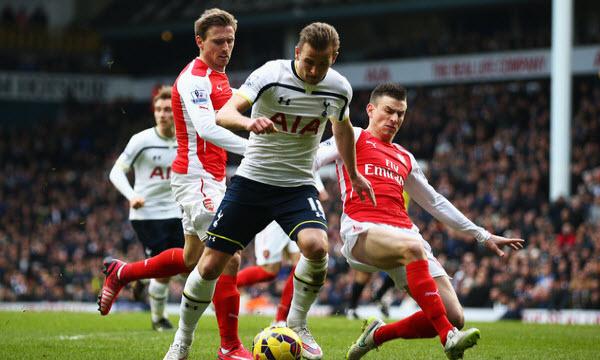 Bóng đá - Tottenham Hotspur vs Arsenal 19h30, ngày 10/02