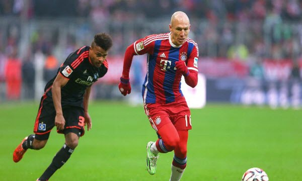 Bóng đá - Bayern Munich vs Hamburger 21h30, ngày 10/03