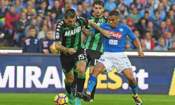 Bóng đá - US Sassuolo Calcio vs Napoli 02h45 ngày 23/12