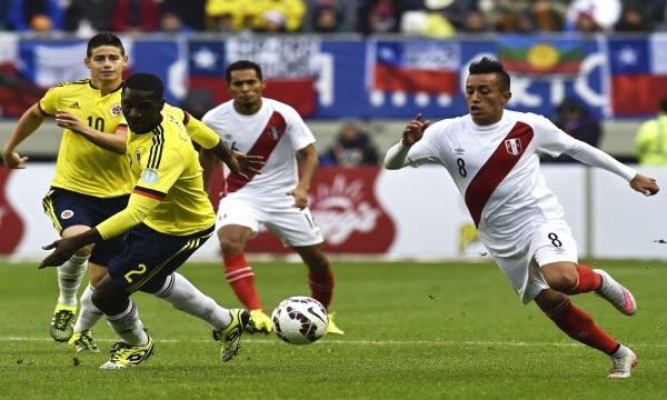 Nhận định dự đoán Peru vs Colombia 9h ngày 4/6