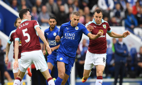 Bóng đá - Burnley vs Leicester City 16/03/2019 22h00