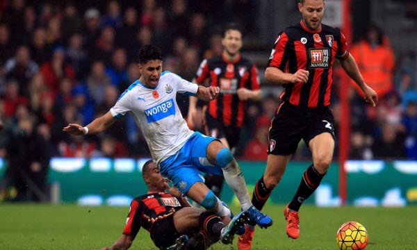 Bóng đá - AFC Bournemouth vs Newcastle United 16/03/2019 22h00