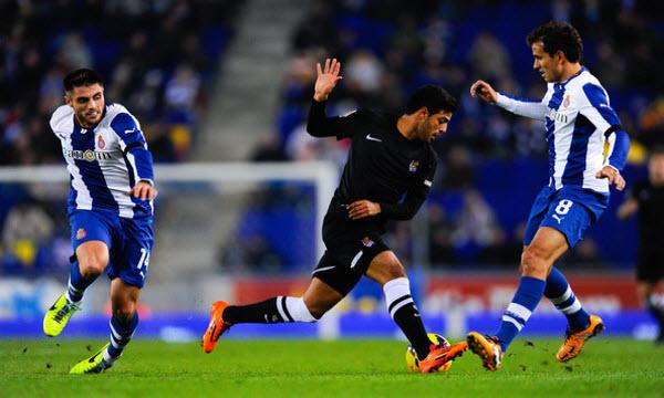 Bóng đá - Espanyol vs Real Sociedad 18h00, ngày 11/03