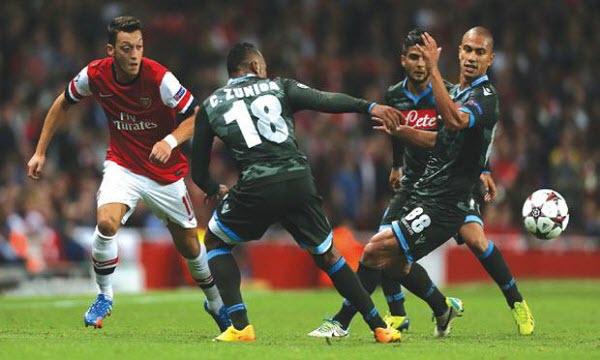 Bóng đá - Arsenal vs Napoli 02h00 ngày 12/04