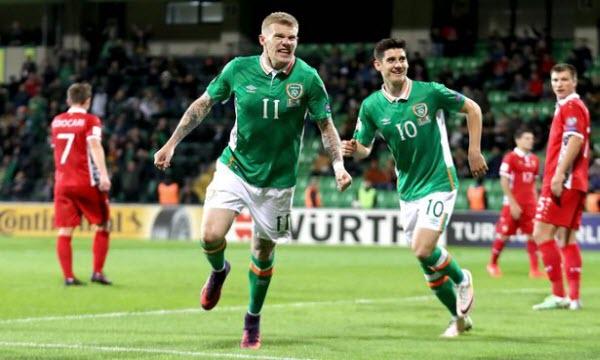 Bóng đá - CH Ireland vs Áo 23h00, ngày 1/06