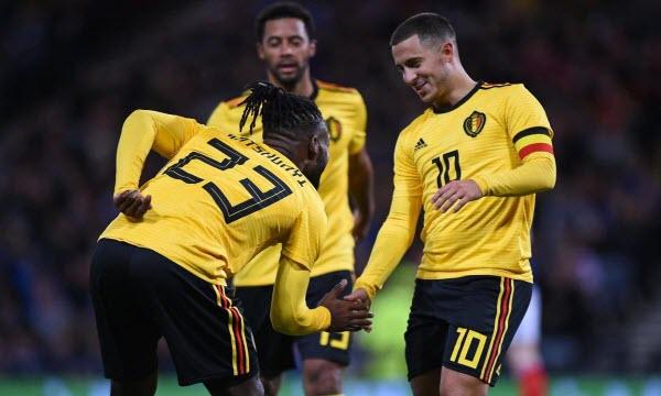 Bóng đá - Bỉ vs Scotland 01h45 ngày 12/06