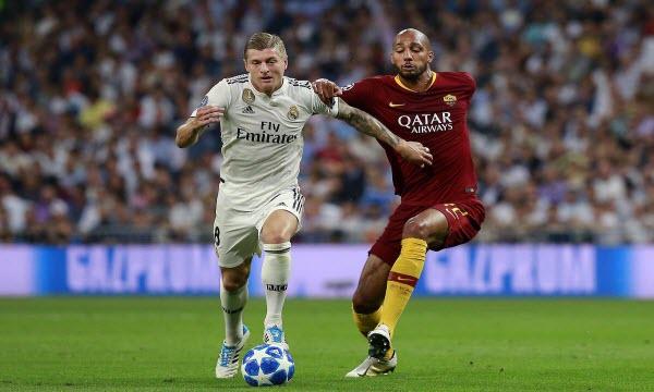 Bóng đá - AS Roma vs Real Madrid 01h00 ngày 12/08