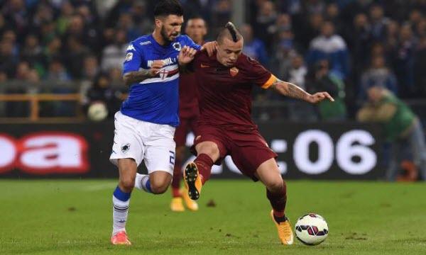 Bóng đá - AS Roma vs Sampdoria 20h00, ngày 11/09