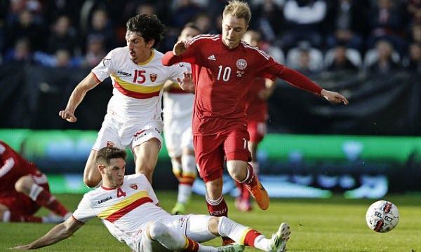 Bóng đá - Đan Mạch vs Montenegro 01h45, ngày 12/10