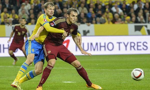 Bóng đá - Nga vs Thụy Điển 01h45 ngày 12/10