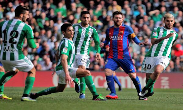 Bóng đá - Barcelona vs Real Betis 22h15 ngày 11/11