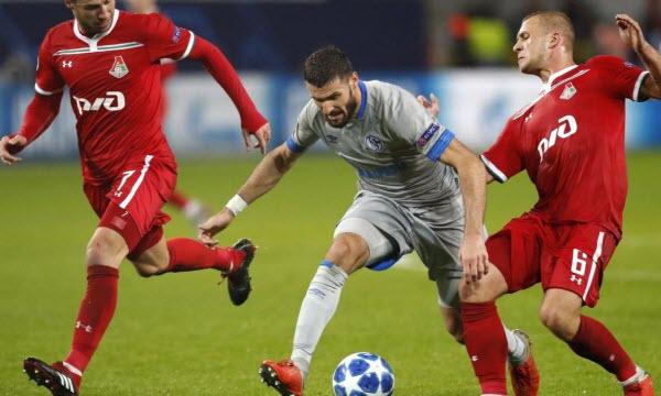 Bóng đá - Schalke 04 vs Lokomotiv Moscow 00h55 ngày 12/12