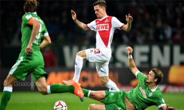 Bóng đá - Werder Bremen vs Koln 02h30, ngày 13/03