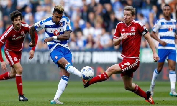 Reading vs Middlesbrough 18h30 ngày 25/9