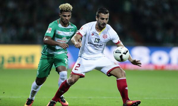 Bóng đá - Mainz 05 vs Werder Bremen 20h30, ngày 12/05