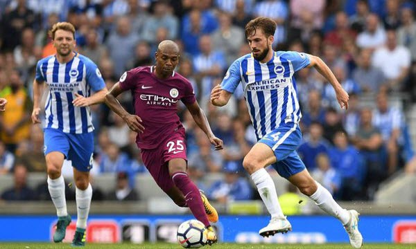 Bóng đá - Brighton & Hove Albion vs Manchester City 21h00 ngày 12/05