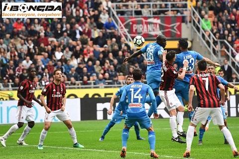 Thông tin trước trận Napoli vs AC Milan