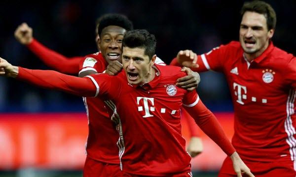 Bóng đá - Eintr. Frankfurt vs Bayern Munich 01h30, ngày 13/08