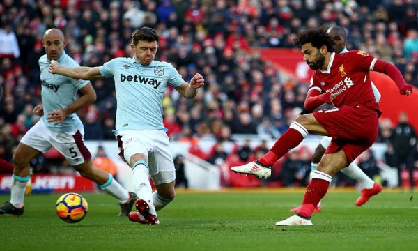 Bóng đá - Liverpool vs West Ham United 19h30, ngày 12/08