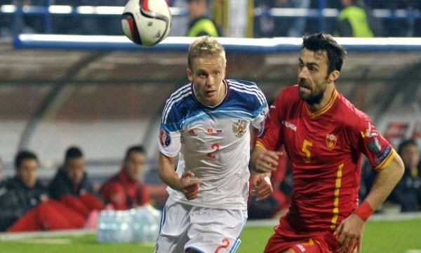 Bóng đá - Nga vs Montenegro 23h00, ngày 12/10