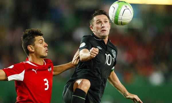 Bóng đá - Áo vs CH Ireland 00h00, ngày 13/11