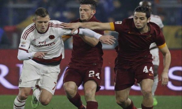 Bóng đá - AS Roma vs AC Milan 03h00, ngày 13/12